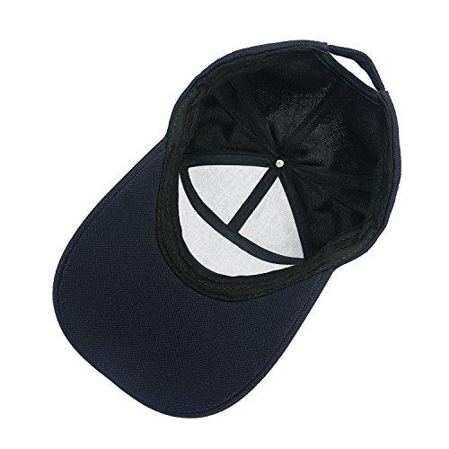 Respirable Sombrero Solar Proteccion Azul Papá Lamdgbway Gorra Hombres Beisbol de de x7aI7P