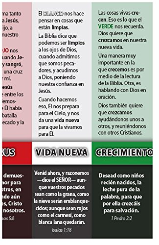 Amazon.com : Gods Good News In Colors (Packet of 100, Spanish ...