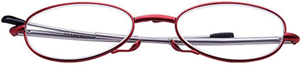Compact Foldable Design Lens Variations from 1.0 to Stylish Folding Reading Glasses with Pocket-Sized Black Case 3.0
