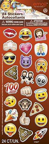 Unique 50581 Emoji Puffy Sticker
