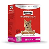 Milk-Bone Brushing Chews Daily Dental Treats – Mini – 22oz For Sale