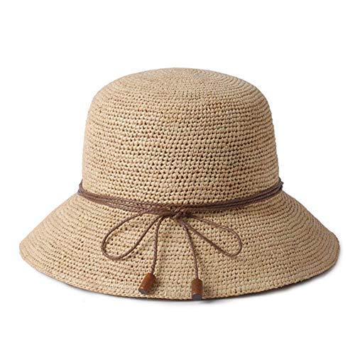 Mujeres A Mujer Para Sombrero Playa Clásico Verano Paja De 4B0wOqT