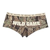 Camo Booty Shorts para mujer '' Wild Game '' Smokey Branch- Medium