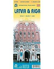 1. Latvia & Riga Travel Reference Map 1:460,000/8,000 by ITMB Publishing LTD (2015-05-22)