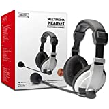High Comfort Headset with Microphone and Volume Control