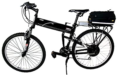 Electric Bike - Enforcer All Terrain Commuter - 16 inch Frame - 27 mph Top Speed - Very Efficient