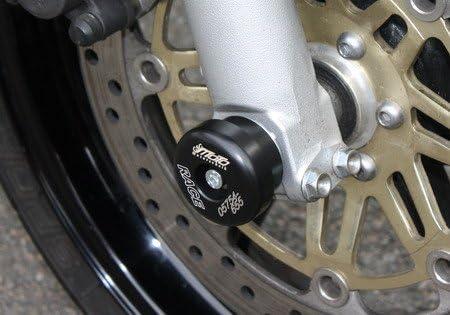 Satz Gsg Moto Sturzpads Vorderrad Passend Für Die Honda Cbr 600 F Pc25 Pc31 91 98 Auto