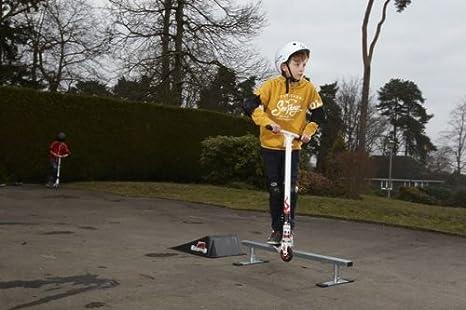 Amazon.com: Rampage Barra para skateboarding portátil ...