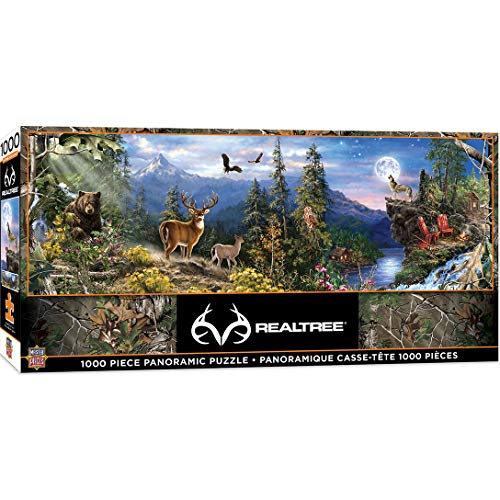 MasterPieces Realtree Panoramic Jigsaw Puzzle, Featuring Scenic View of Forest, Dr. Toy's 100 Best Winner, 1000 Pieces…