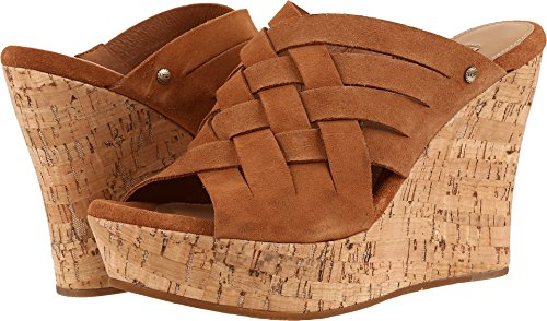 UGG Women's Marta Wedge Sandal, Chestnut, 8.5 US/8.5 B US