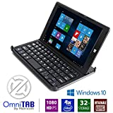 Matricom OmniTAB 8-Inch HD 1GB Windows 10 Tablet PC with Keyboard (Black)