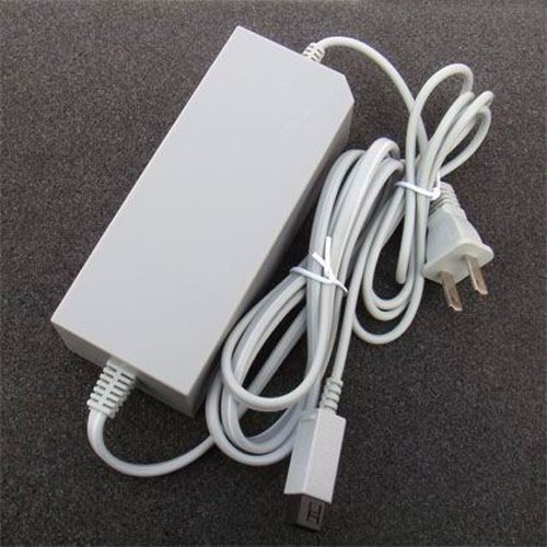 OSTENT US Type AC Wall Adapter Power Supply Replacement Compatible for Nintendo Wii Console Video Game