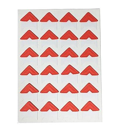 120pcs Self Adhesive Paper Photo Foto Corner Stickers For Scrapbooking, Personal Journal & Diary Adhesives (Black) yiji