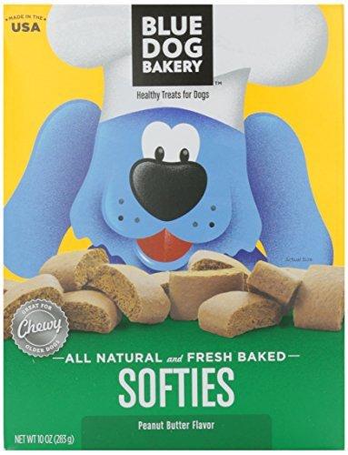 Blue Dog Softies, Peanut Butter, 10 oz (Dog Bakery Low Fat)