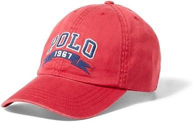 Ralph Lauren - Gorra de béisbol Polo 1967 - para niños - Red ...