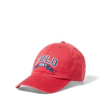 7c4322a3eb7 Amazon.com  Ralph Lauren Cotton Chino Baseball Cap
