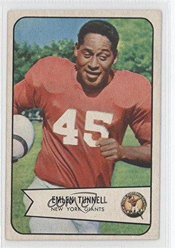 Emlen Tunnell (Football Card) 1954 Bowman - [Base] - 1954 Cards Football