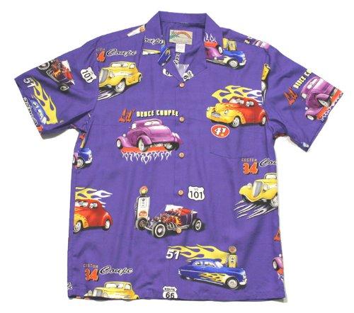 Amazon.com: Hot Rod Camisas hawaianas – Mens Hawaiian ...