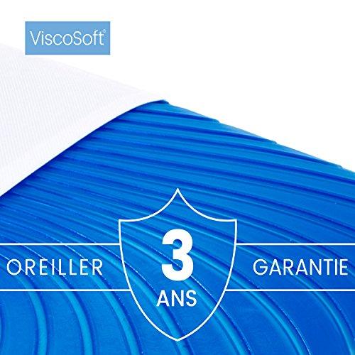 ViscoSoft Arctic Gel - Almohada viscolástica con funda lavable y gel refrescante (60 x 40 cm): Amazon.es: Hogar