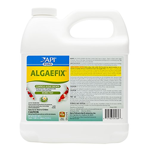 (API POND ALGAEFIX Algae Control Solution 64-Ounce Bottle)