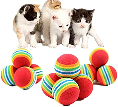 Beauty DIY Mart 20Pcs Bolas para Perros, Mignon Juguete Pelotas ...