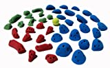 Beginner Kids Rock Climbing Holds 40 Pack - Little Tigers