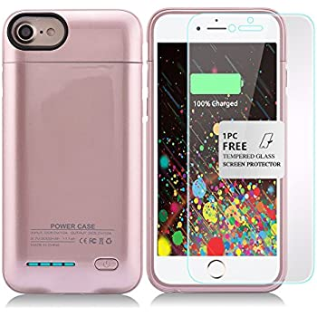 Kujian IPhone 7 Plus Battery Case4200mAh Slim Charging Case W Magnetic Function External