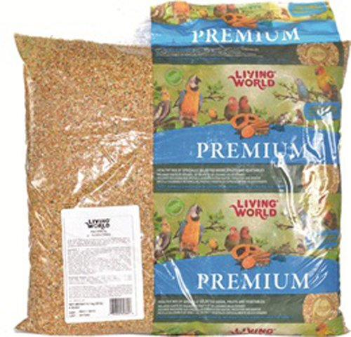 Living World Premium Mix for Finches 9.07 kg (20 lb)