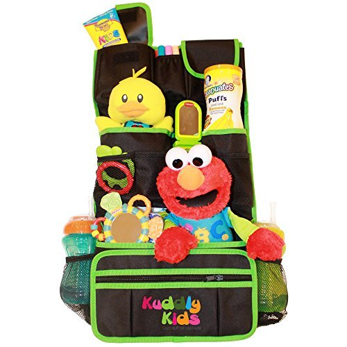 Buy Kuddly Kids Backseat Car Organizer For Kids The Ultimate Travel Accessories For Baby, Kids Toy C...