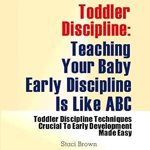 Toddler Discipline Audiobook