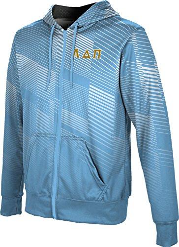 (ProSphere Alpha Delta Pi Men's Zipper Hoodie, School Spirit Sweatshirt (Bold) B8724)
