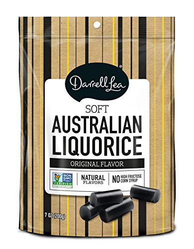 Darrell Lea Original (Black) Soft Eating Liquorice, 7-Ounce Bags