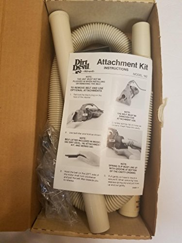 Dirt Devil Model 192 Attachment Kit -- fits all Royal Hand - Kit Attachment Vac Hand