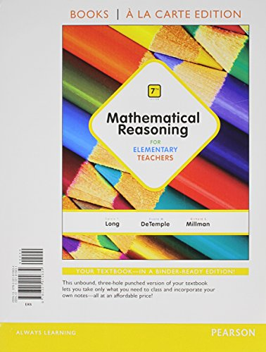 Mathemat.Reasoning F/Elem.(Ll) W/Access