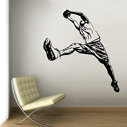 Fit You Wall Vinyl Sticker Decals Decor Art Bedroom Design Mural Modern  Design La Lakers Basketball