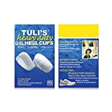 Tuli's Heavy Duty Gel Heel Cup, TuliGEL Shock