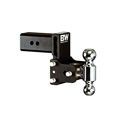 "B&W TS30037B Tow & Stow Model 8 Dual-Ball Hitch 2"" x 2 5/16"" for 3"" Receivers 4.5"" Drop 4"" Rise: Automotive"