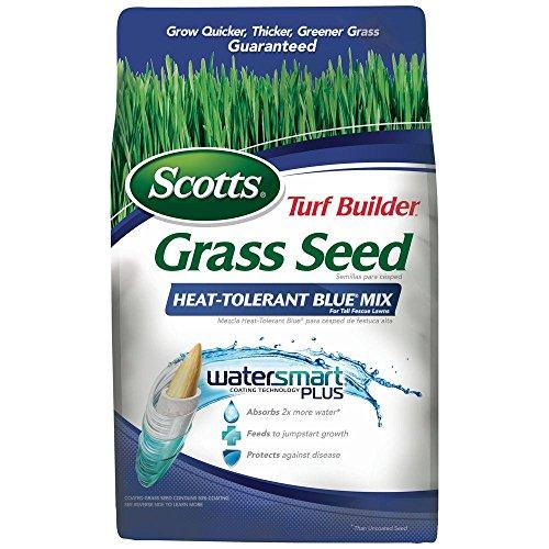 Scott's 18296 3 Lb Turf Builder Grass Seed Heat Tolerant Blue Mix Fescue
