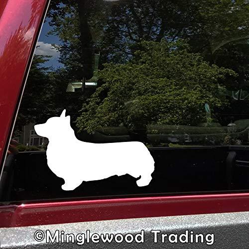 Minglewood Trading White - Set of 2 Corgi 3