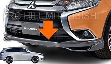 2016 Genuine Mitsubishi Outlander frontal aire Dam gris mz576616ex Alerón terreno efectos cuerpo Kit