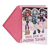 Hallmark Valentine's Day Greeting Card for Teacher (Monster High)