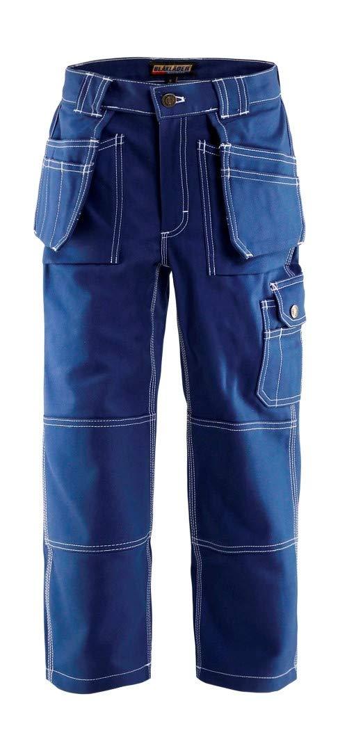 Blaklader Workwear Children´S Trousers Navy Blue C128 (C128 UK) by Blaklader