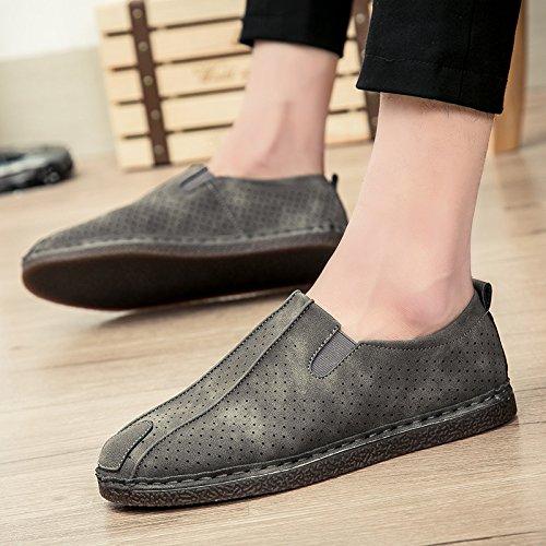 El hombre que conducía el coche Patines Calzado casual calzado casual clásico de alta calidad Thirty-eight|gray gray