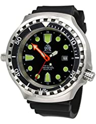 Tauchmeister mens Diver watch AUTOMATIC sapphire glass T0309