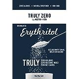 Truly Zero Erythritol Sweetener - 1 lb - All Natural Non GMO Zero Calorie Zero Glycemic Index Zero Net Carbohydrate Sugar Alternative