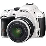 Pentax K-50 16MP Digital SLR Camera Kit with DA L 18-55mm WR f3.5-5.6 and 50-200mm WR Lenses (White) Review