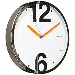 DecoMates Non-Ticking Silent Wall Clock, Modern House 126