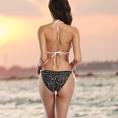 Matem Mujer Divertido Bikini Conjunto De Alaza 7Xnw88xvq
