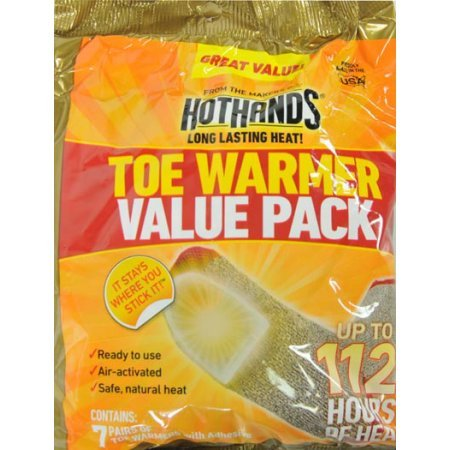 Hand Warmers by Hot Hands Made in the USA (( 2015 Stock Individually Packaged )) -100 Pair Mega Value