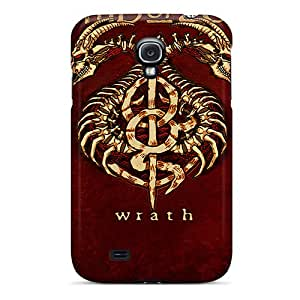 Bumper Hard Phone Covers For Samsung Galaxy S4 With Provide Private Custom Stylish Lamb Of God Pattern AshtonWells